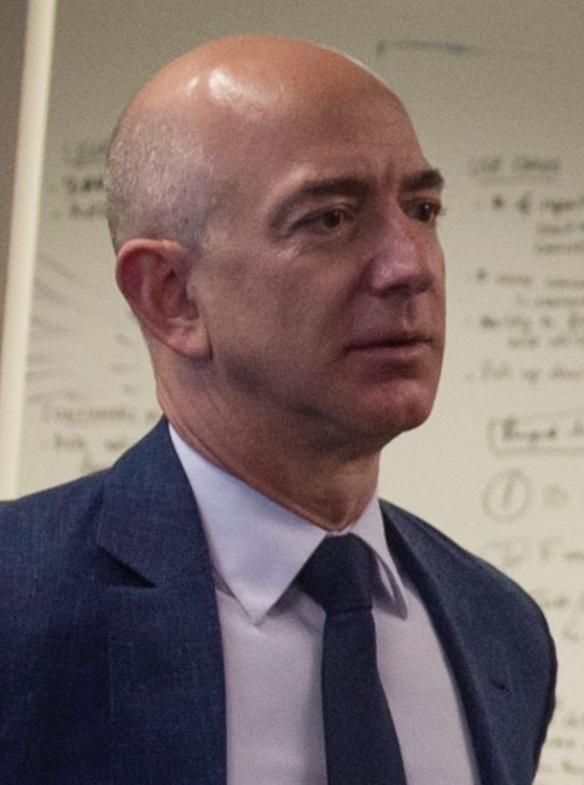 SD meets with Jeff Bezos