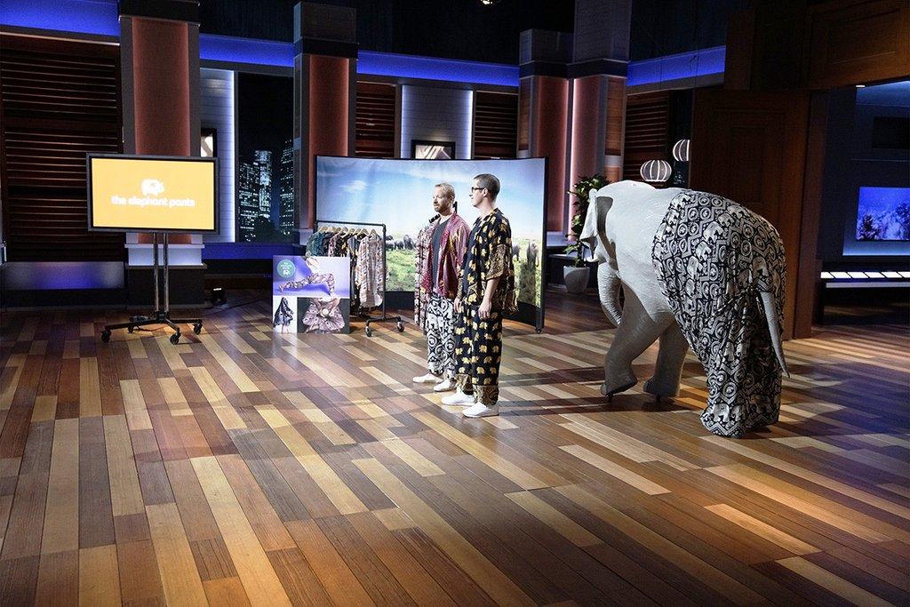 JAMES BROOKS, NATHAN COLEMAN (THE ELEPHANT PANTS)